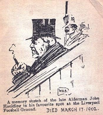 John Houlding sketch