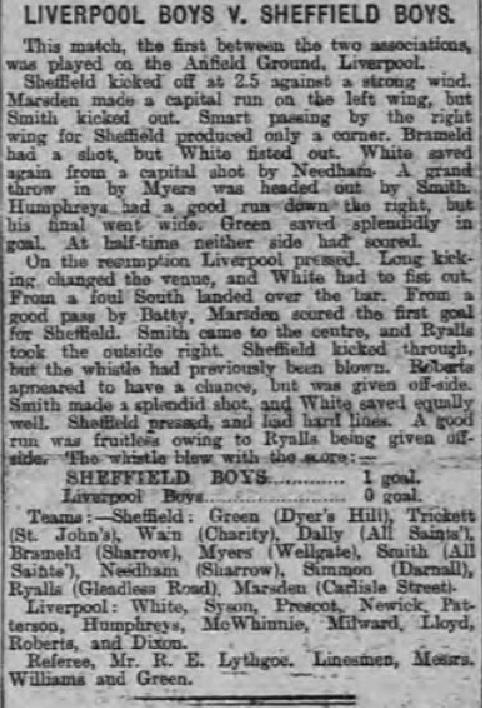 1893 Liverpool Schoolboys