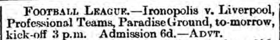Ironopolis 1893