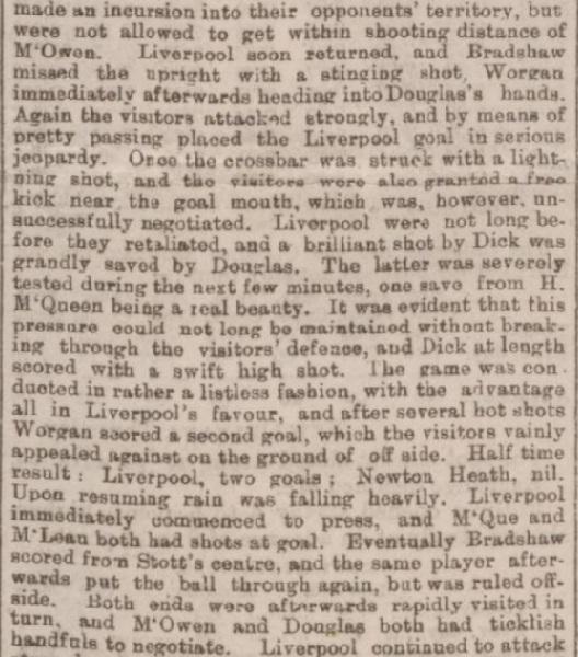 1894 LFC v Newton Heath charity 2