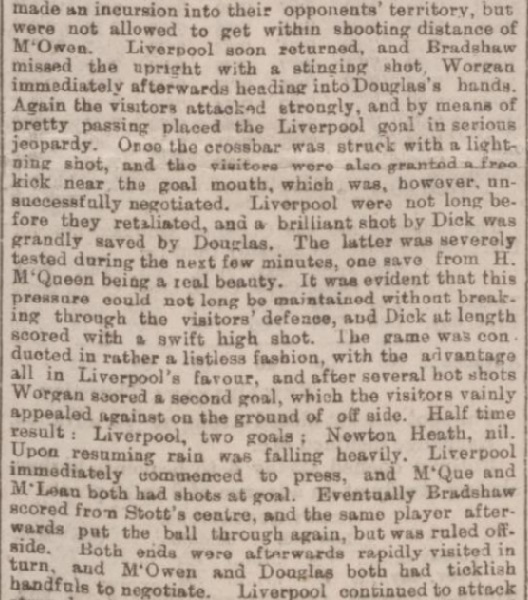 1894 LFC v Newton Heath charity 2