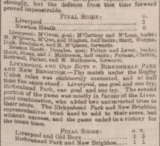 1894 LFC v Newton Heath charity 3