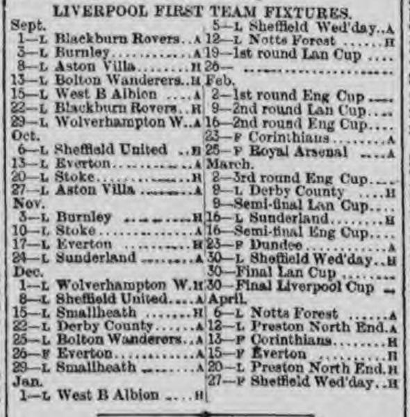 1894 fixture list card