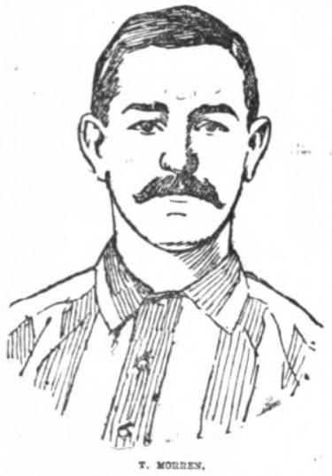 Tom Morren, Sheffield United, Lancashire Evening Post, April 8, 1899.