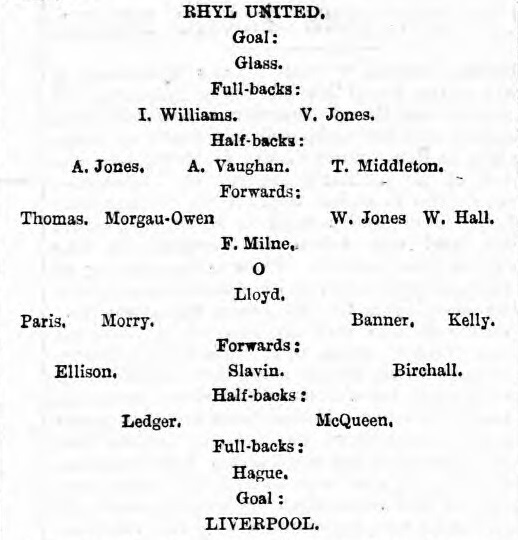 1898 Rhyl United
