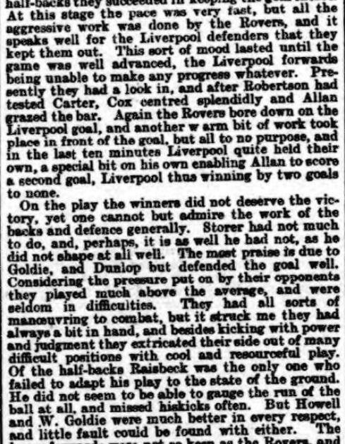 1899 LFC v BRFC Athletic News 3