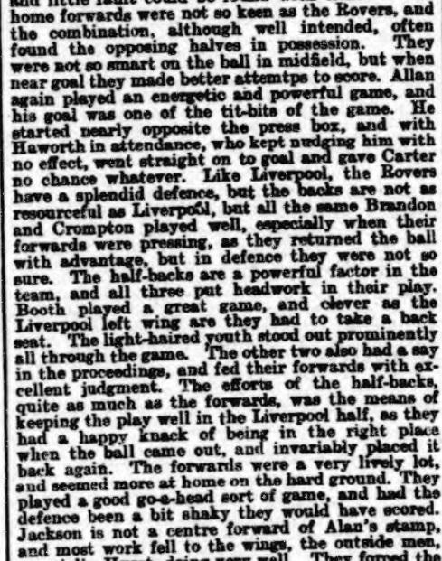 1899 LFC v BRFC Athletic News 4