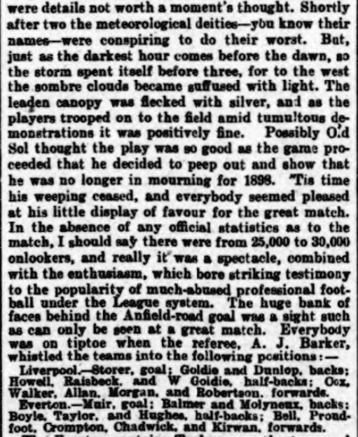 1899 LFC v EFC Athletic News 2