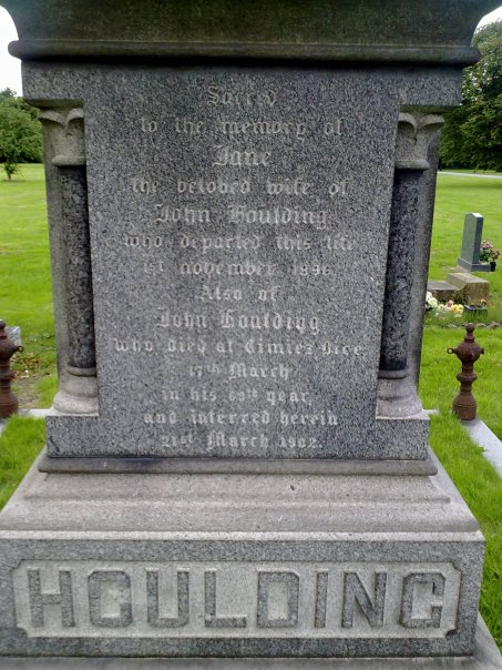 John Houlding grave III