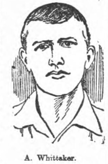 Arnie Whittaker of Blackburn Rovers scored a goal against Liverpool in 1901.