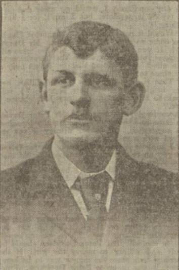 Jack Lyall, goalkeeper, Sheffield Wednesday. From Dundee Evening Post. March 28 - 1905.