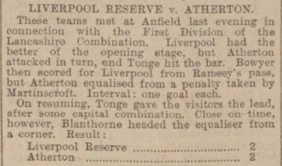 1907 Atherton LFC Res
