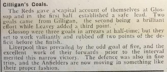 1910 Glossop Res v LFC Res 2