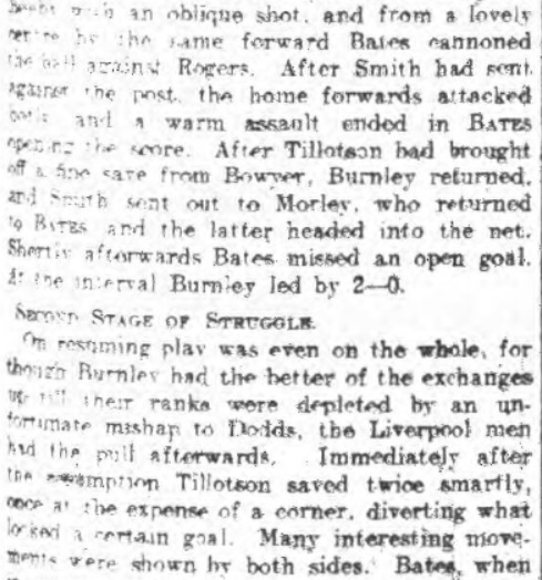 Burnley Reserves 1910 II