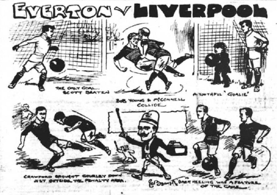 Everton v Liverpool 1910