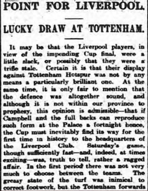 1914 Spurs v LFC 1