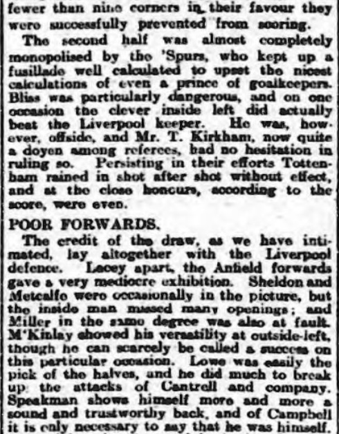 1914 Spurs v LFC 3