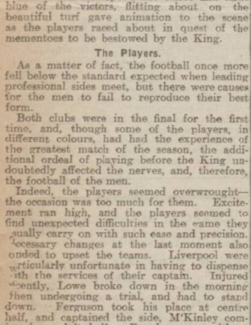 Cup final report 1914 5