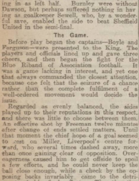 Cup final report 1914 6