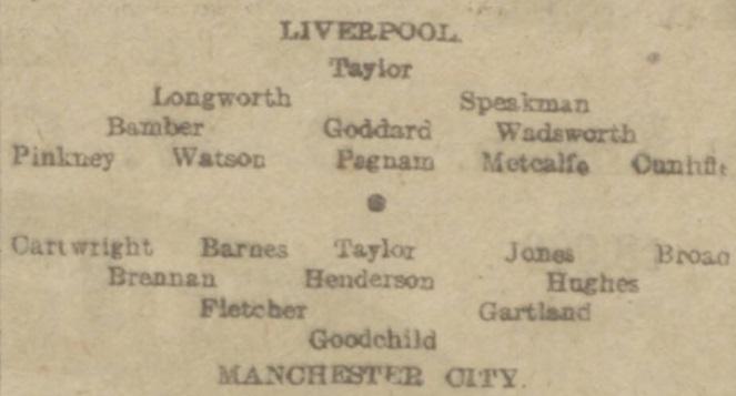 LFC v MCFC April 1916