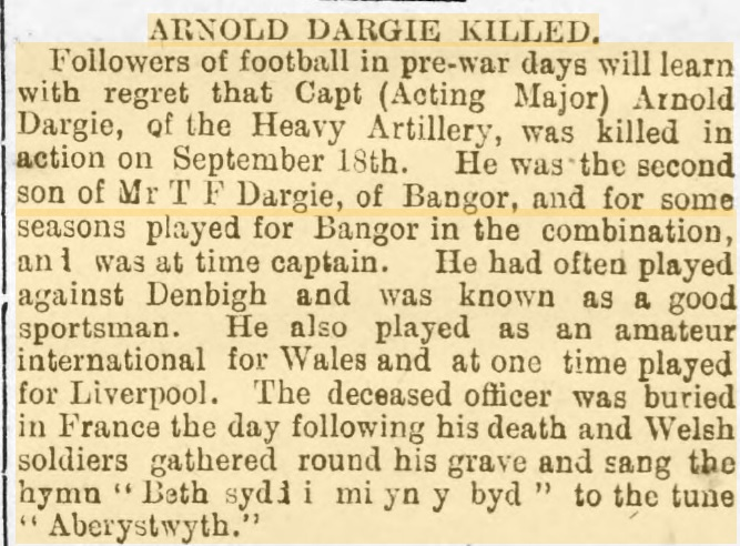 1917 Arnold Dargie 1