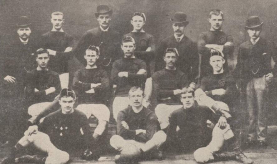 Ned Doig Arbroath 1886