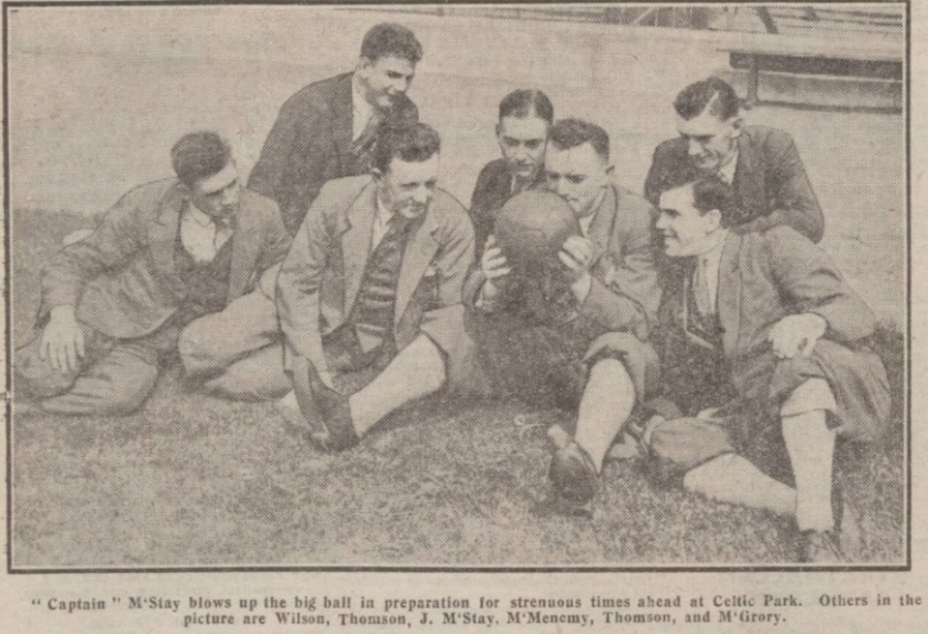 scotland-1927-celtic-training
