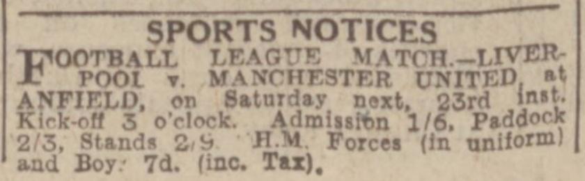 1943 ad LFC v MUFC