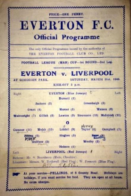 1944 EFC programme