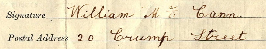 Signature Bill McCann