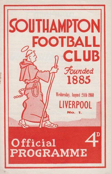1960 Soton v LFC Match programme