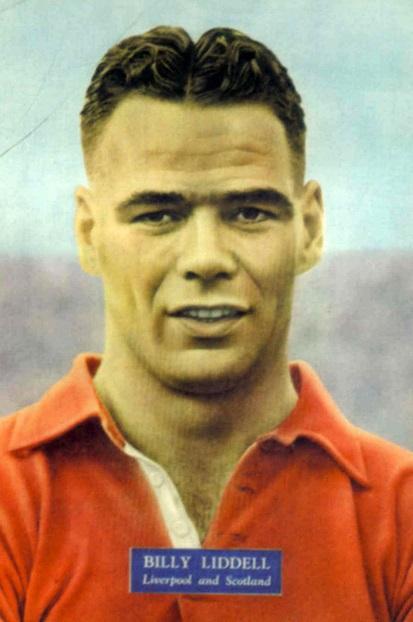 Billy Liddell, Liverpool F.C.