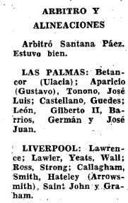 1968 Las Palmas v LFC 6
