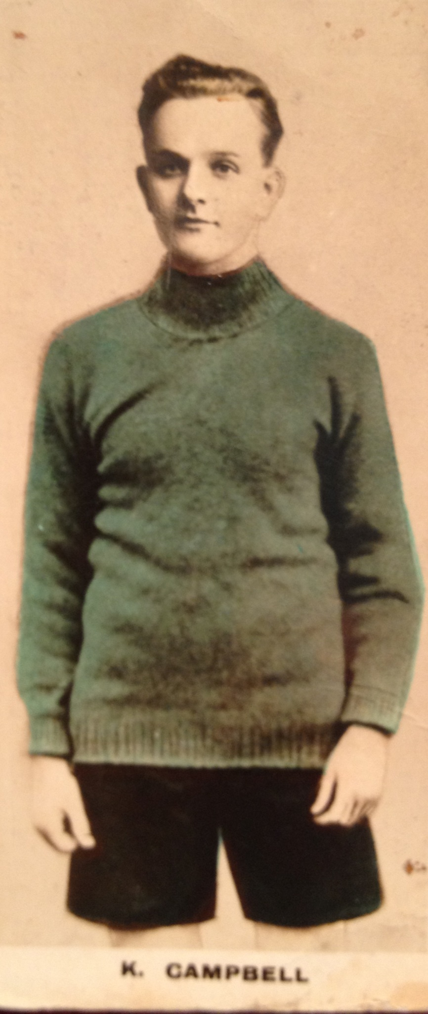 Kenneth Campbell 1922 JC I