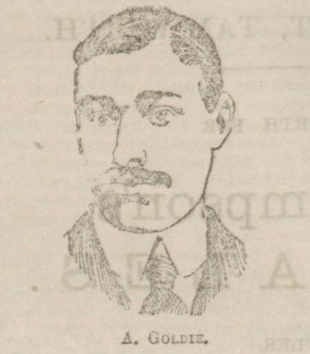 Archie Goldie 1902