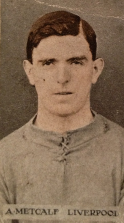 Arthur Metcalf 1914 JC
