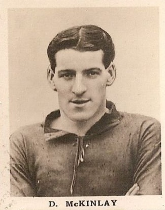 Donald Mackinlay Liverpool F.C.