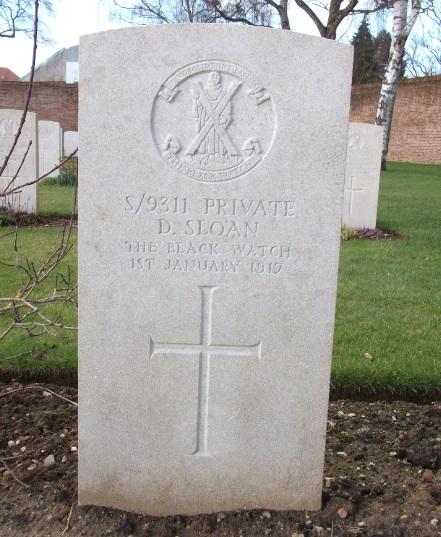Donald Sloan grave