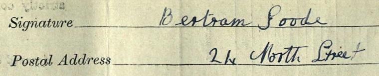 Signature Bertam Goode