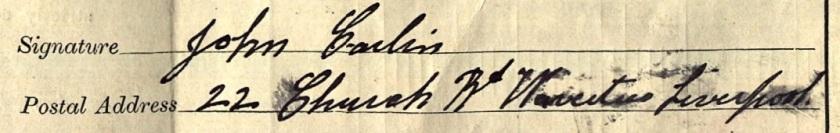 Signature John Carlin
