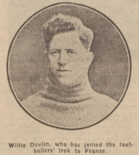 William Devlin Liverpool F.C. and Hearts