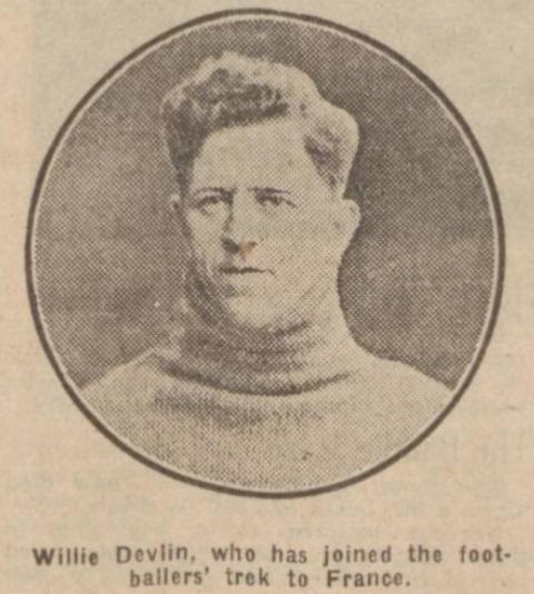 William Devlin Liverpool F.C. and Hearts