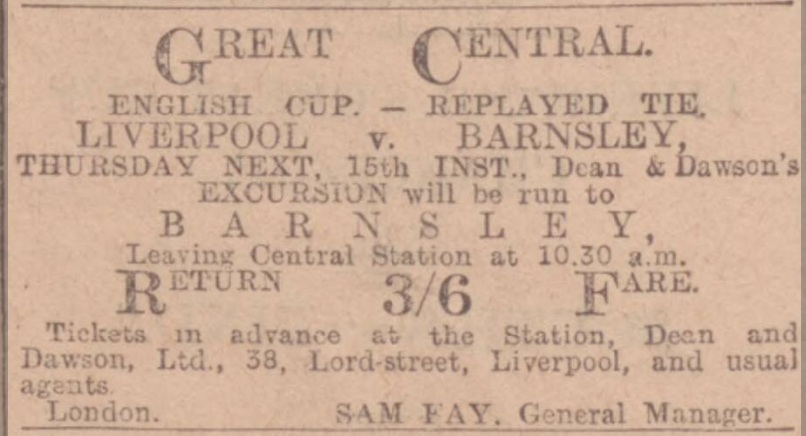 1914 Barnsley replay add
