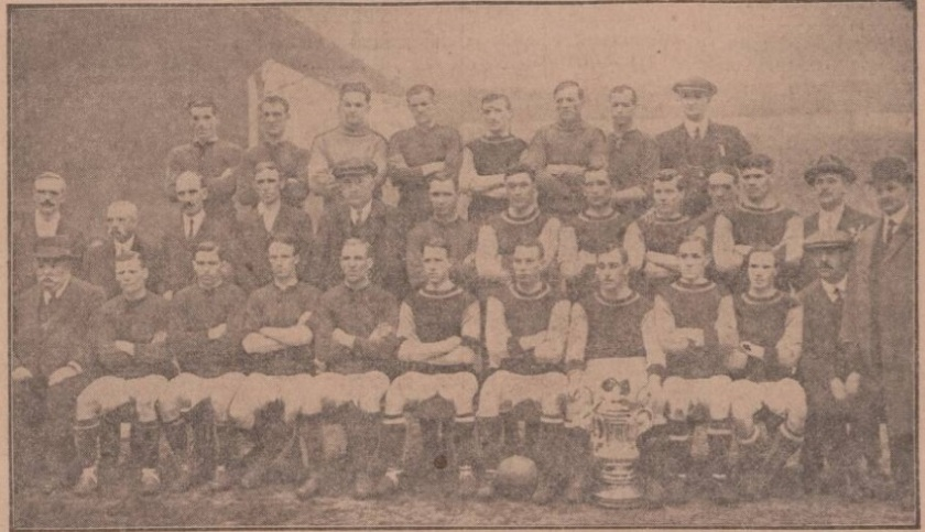Liverpool and Burnley 1914