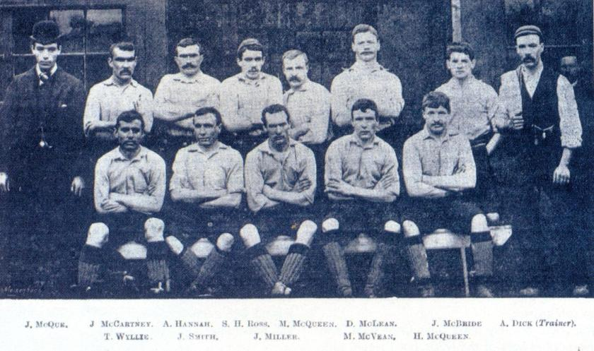 Liverpool 1892 team picture