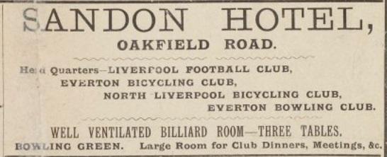 Sandon Hotel 1895