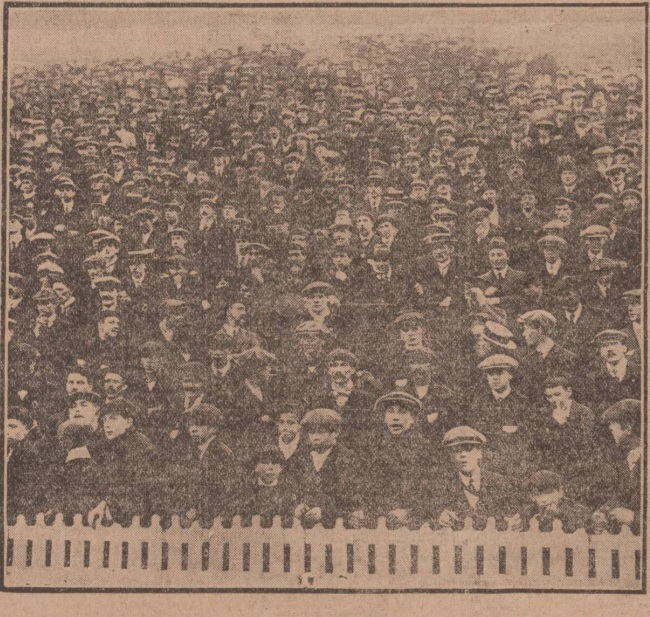 The Kop from 1914