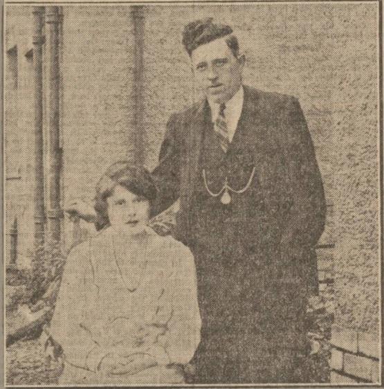 Willie Devlin with bride