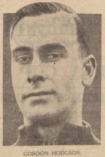 Gordon Hodgson 1933