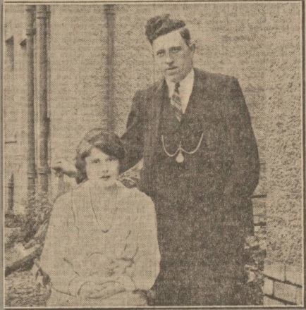 Willie Devlin with bride